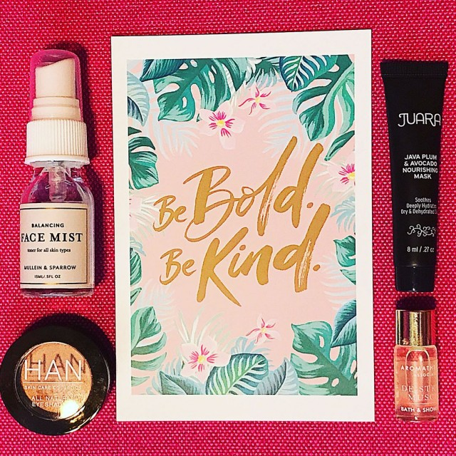 Be Bold Be Kind The May petitvour box is filledhellip