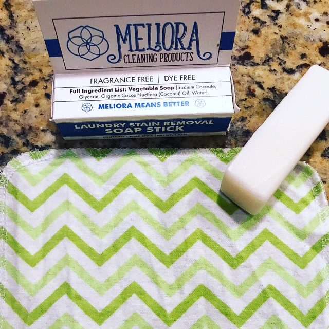 Goodbye stains The melioracleaningproducts Laundry Stain Removal Soap Stick workedhellip