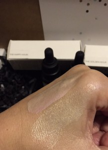 GPB Maya Chia swatch highlighter