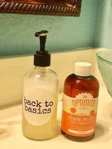 GPB BTB soap and bottle