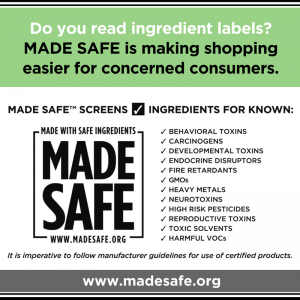 GPB MADE SAFE SCREEN INGREDIENTS